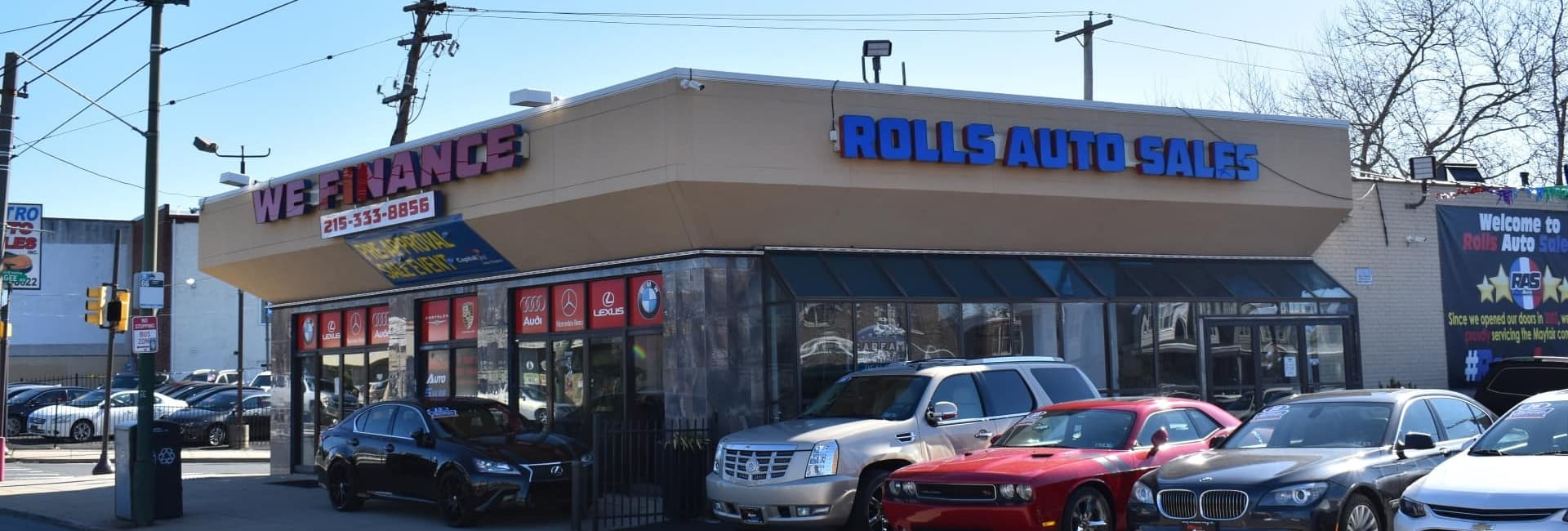 Welcome To Rolls Auto Sales