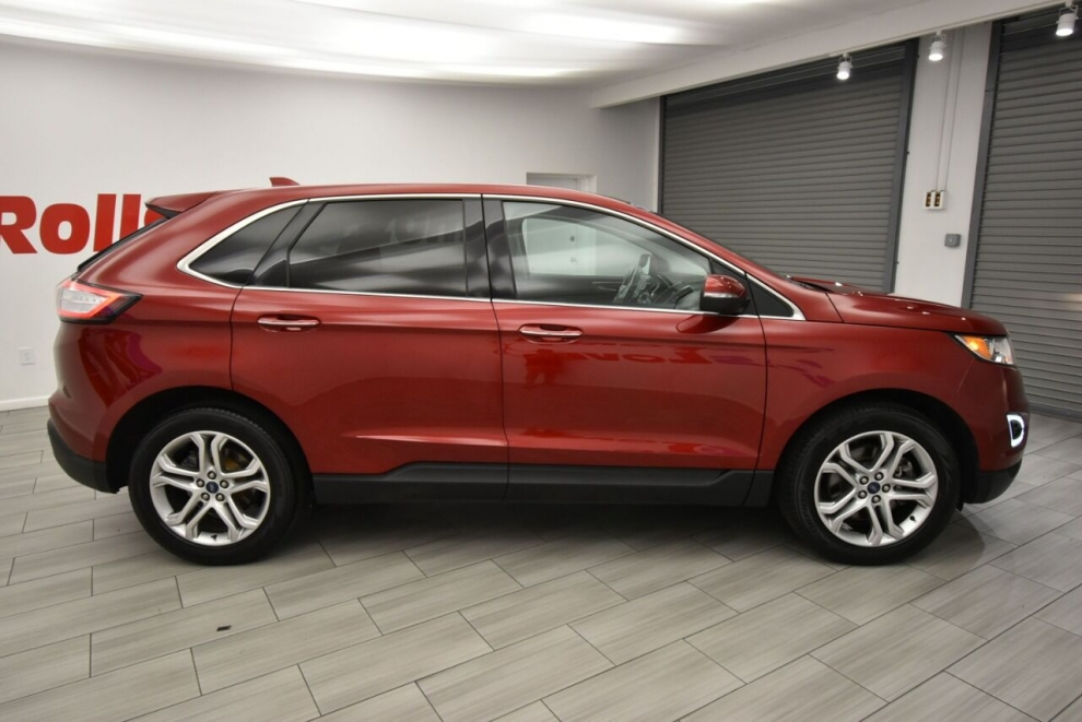 Used 2015 Ford Edge Titanium AWD 4dr Crossover, Stock ...