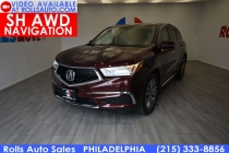 2017 Acura MDX SH AWD w/Tech 4dr SUV w/Technology Package
