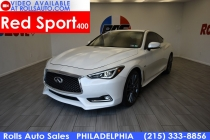 2017 Infiniti Q60 Red Sport 400 AWD 2dr Coupe