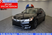 2017 Honda Accord Sport Special Edition 4dr Sedan CVT