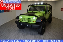 2013 Jeep Wrangler Unlimited Sport 4x4 4dr SUV